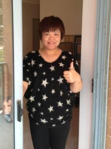 sydney testimonial for her door repairs