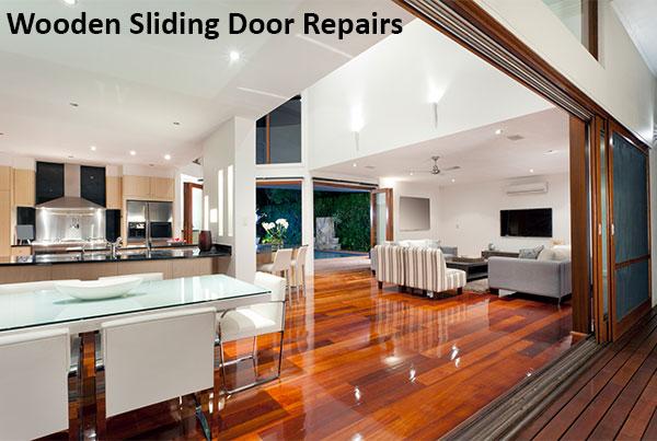 wooden sliding door repairs